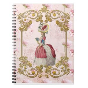 romantic_marie_antoinette_floral_pink_ノートブック-r0eb29c01815042dd8ac63a4b9e36cbe1_ambg4_8byvr_512